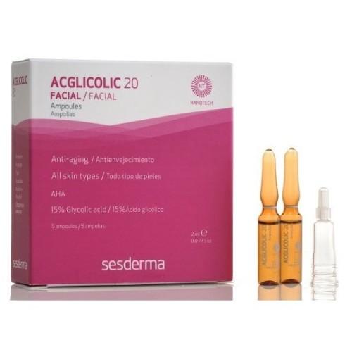 ACGLICOLIC 20 Anti-Aging Moisturizing Ampoules
