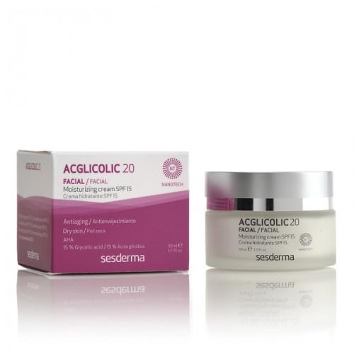 ACGLICOLIC 20 Moisturizing Cream SPF 15