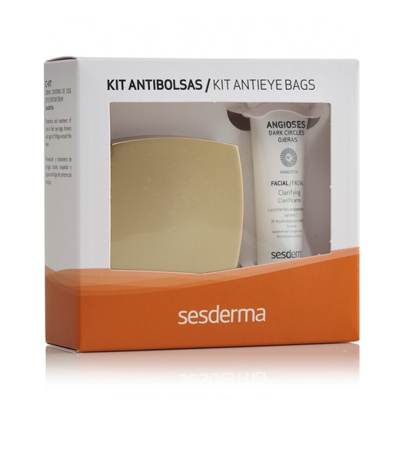 Anti-eye Bags Kit (Angioses + C Vit Eye Contour Cream)
