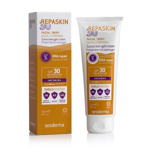 REPASKIN Body Sunscreen gel cream SPF 30