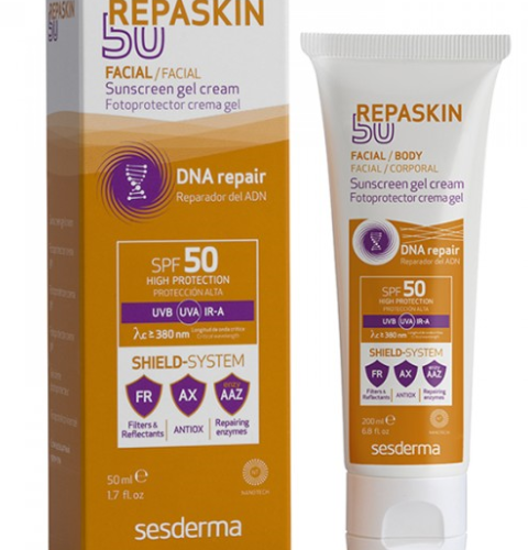 REPASKIN Body Sunscreen gel cream SPF 50