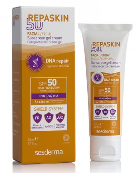 REPASKIN Body Sunscreen gel cream SPF 50