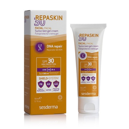 REPASKIN Facial Sunscreen gel cream SPF 30