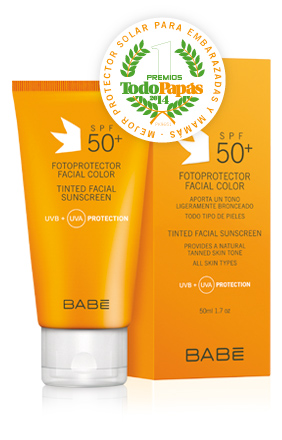 TINTED FACIAL SUNSCREEN SPF 50+ pH 7.5