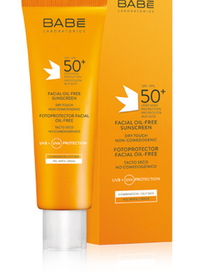 FACIAL OIL-FREE SUNSCREEN SPF 50+ pH 7.5