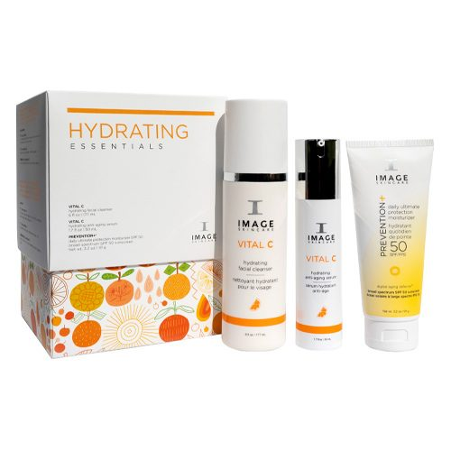 IMAGE подарочный набор Увлажняющий ритуал Hydrating essentials