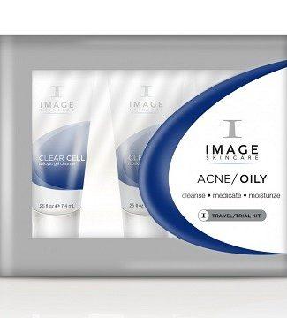 IMAGE Пробный набор ACNE/OILY  Travel/Trial Kit