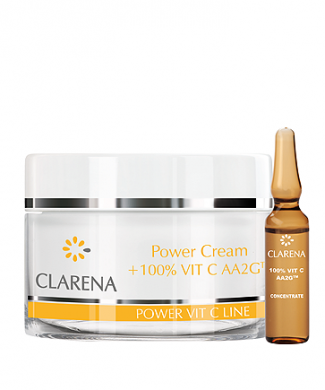 Clarena Крем основа Power cream + 100% VIT C AA2G
