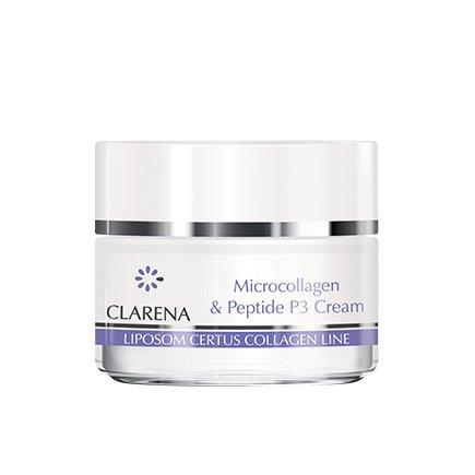 Clarena Крем з колагеном  Microcollagen & peptide P3 Cream