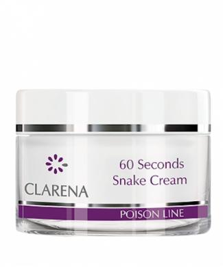 Clarena Крем з отрутою кобри 60 seconds Snake Cream
