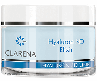 Clarena Нічний еліксир Hyaluron 3D Elixir