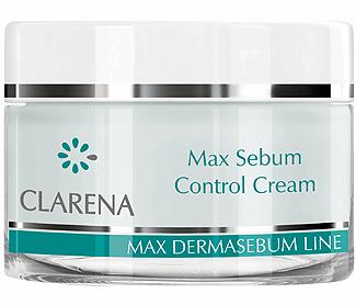 Clarena Нормалізуючий крем з саліциловою кислотою Max Sebum Control Cream