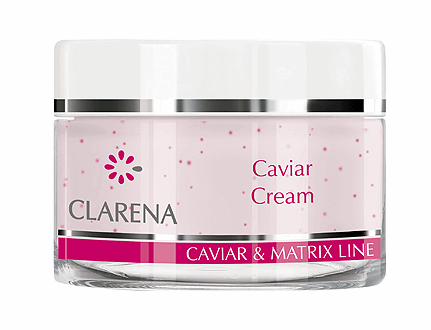 Clarena Омолоджуючий, регенеруючий крем Caviar cream