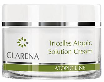 Clarena Відновлюючий - зволожувальний крем Tricelles atopic solution cream