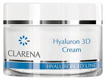Clarena Зволожуючий крем Hyaluron 3D cream