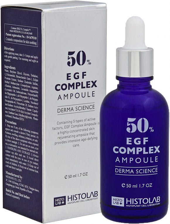 Histolab Концентрат з епідермальним фактором росту комплексом EGF 50% EGF Complex ampoule 50%