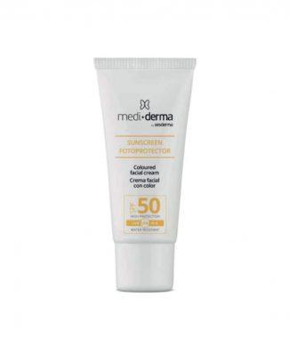 Солнцезащитный крем SPF 50 с тоном Facial cream SPF50