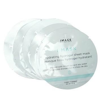 IMAGE Гидрогелевая маска с вулканической водой Hydrating hydrogel sheet mask
