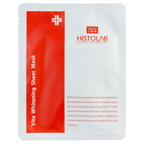 Histolab Маска тканевая выравнивающая с витаминным комплексом Whitening Sheet Mask 30g